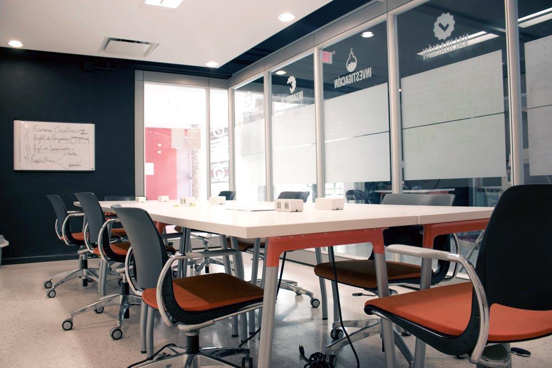 Salón de Conferencias del Centro de Innovación de Sagrado Neeuko
